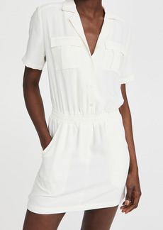 Amanda Uprichard Short Sleeve Felix Dress