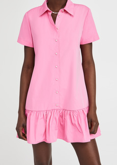 Amanda Uprichard Short Sleeve Raina Dress
