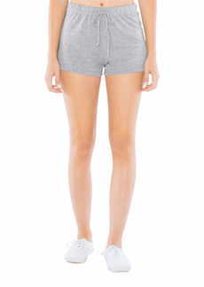 American Apparel Women's Tri-Blend Jersey Running Short