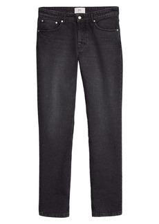 AMI Alexandre Mattiussi Ami Fit Jeans (Used Black)