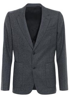 AMI Heavy Wool Flannel Jacket