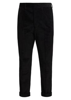 AMI Roll-Cuff Corduroy Pants