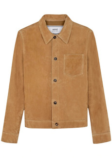 AMI Suede Over Shirt