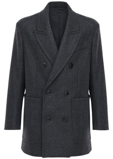 AMI Wool Cloth Pea Coat