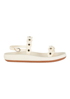 Ancient Greek Sandals Clio Leather Flat Sandals