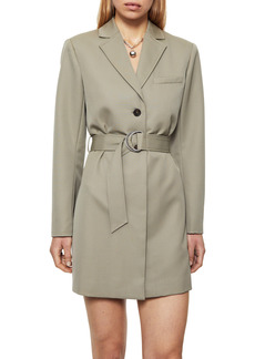 ANINE BING Campbell Long Sleeve Trench Minidress