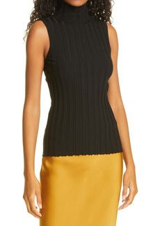 ANINE BING Miranda Ribbed Sweater Tank