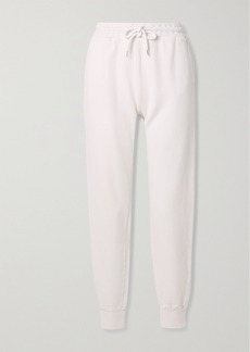 Anine Bing Saylor Cotton-jersey Track Pants
