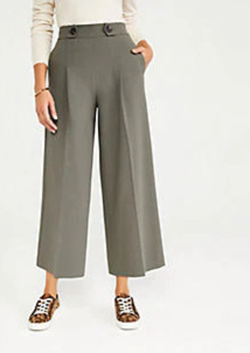 Ann Taylor The Pleated Culotte Pant