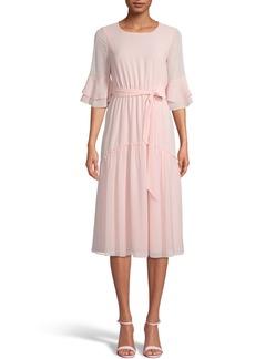 Anne Klein Bell Sleeve Midi Dress