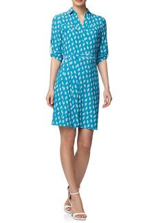 Anne Klein Belted Jersey Shirtdress