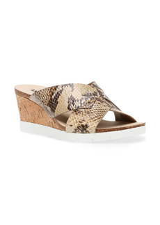 Anne Klein Lexy Wedge Slide Sandal (Women)