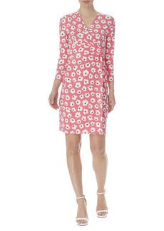 Anne Klein Signature Print Wrap Dress