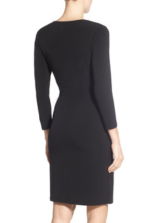 Women's Anne Klein Faux Wrap Jersey Dress