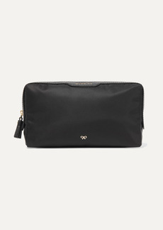 Anya Hindmarch Make Up Small Leather-trimmed Shell Cosmetics Case