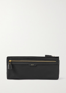 Anya Hindmarch Net Sustain Night And Day Recycled Shell Pvc And Leather Cosmetics Case