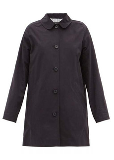 A.P.C. Lou single-breasted cotton-twill coat