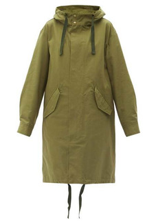 A.P.C. Ludo cotton-canvas parka