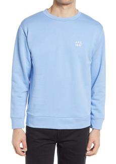 A.P.C. Men's Mike Logo Crewneck Sweatshirt