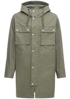A.P.C. Cotton Parka Coat W/ Hood
