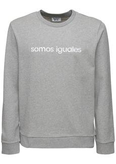A.P.C. Somos Iguales Print Cotton Sweatershirt