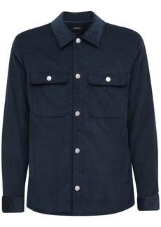 A.P.C. Velvet Cotton Shirt