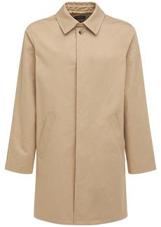 A.P.C. Waterproof Gabardine Macville Coat