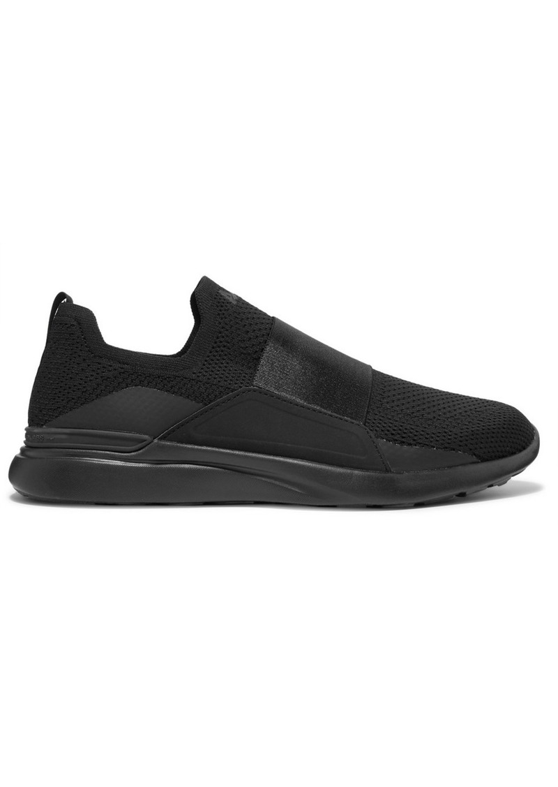 APL Athletic Propulsion Labs Techloom Bliss Mesh And Neoprene Slip-on Sneakers