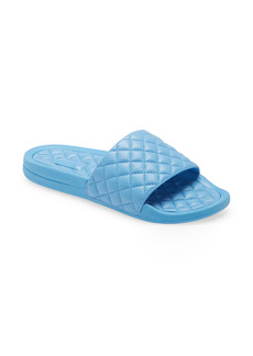 APL Athletic Propulsion Labs Women's Apl Lusso Quilted Slide Sandal