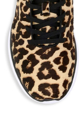 APL Athletic Propulsion Labs Women's Iconic Pro Leopard-Print Calf Hair Sneakers