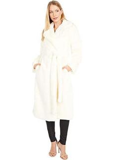APPARIS Mona Faux Fur Robe Coat