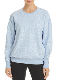 AQUA Athletic Leopard Gloss Sweatshirt - 100% Exclusive