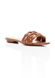 Aquazzura Noah Woven Slide Sandal (Women)