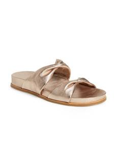 Aquazzura Twist Double Band Slide Sandal (Women)