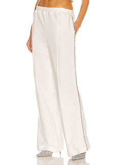 AREA Crystal Stitched Track Pant