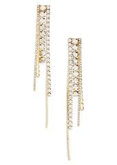 Area Long Chandelier Earrings