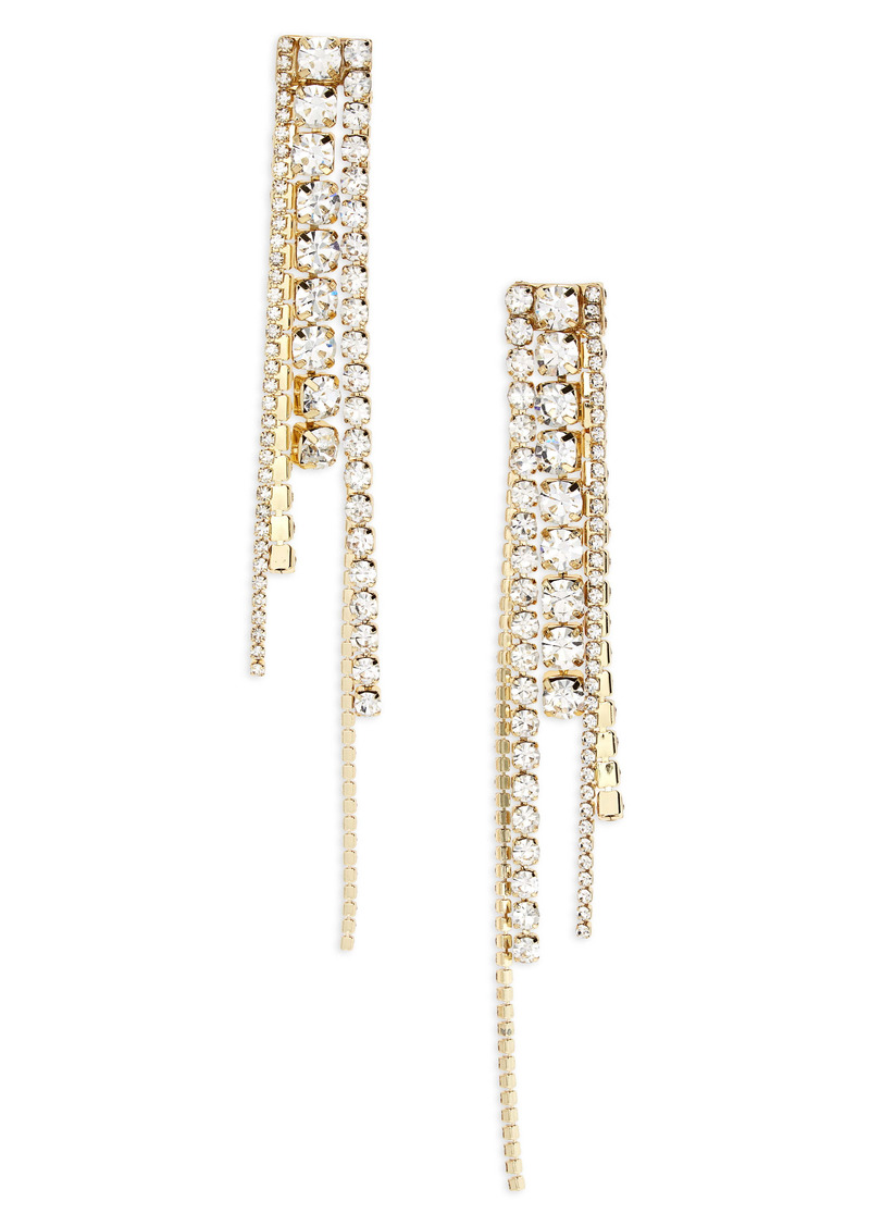 Area Long Chandelier Earrings