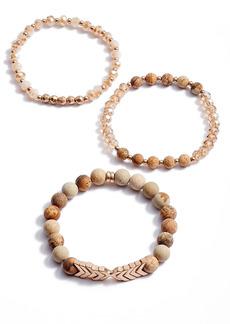 Area Stars 3-Pack Bead Stretch Bracelets
