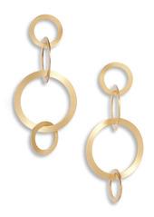 Area Stars Daria Hoop Chain Drop Earrings