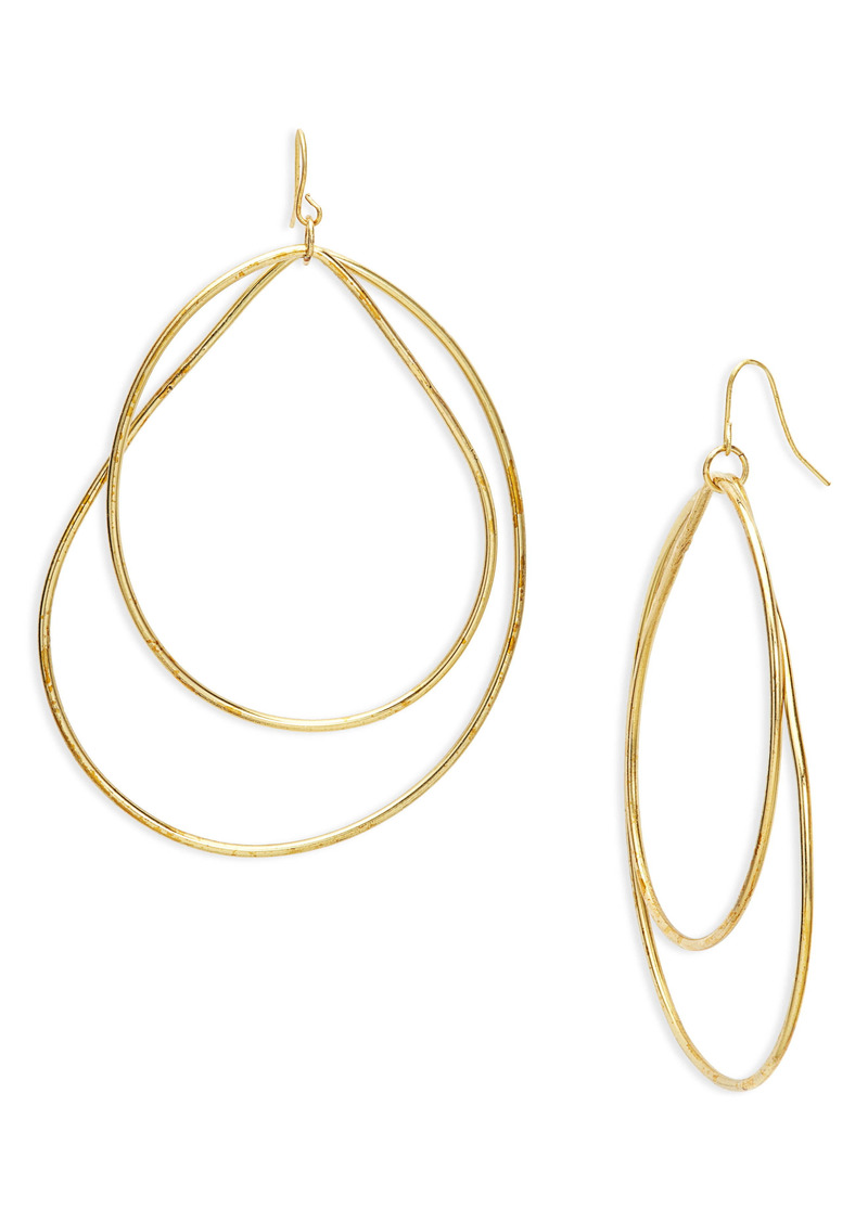 Area Stars Dipsy Double Drop Earrings