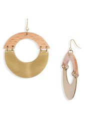 Area Stars Djobi Wood Earrings
