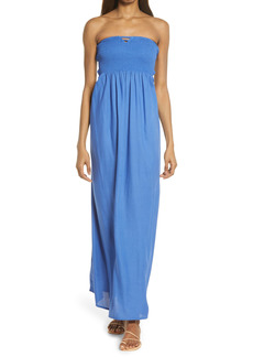 Area Stars Jenny Strapless Maxi Dress