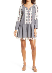 Area Stars Sorrento Gingham Long Sleeve Dress