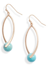 Area Stars Turquoise Drop Earrings