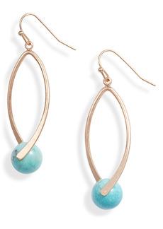 Area Stars Turquoise Drop Earrings