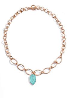 Area Stars Turquoise Pendant Necklace