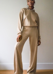Area Track Pants with Crystal Side Stripe