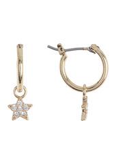 Area Bling Star Mini Hoop Earrings