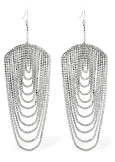 Area Chandelier Crystal Earrings