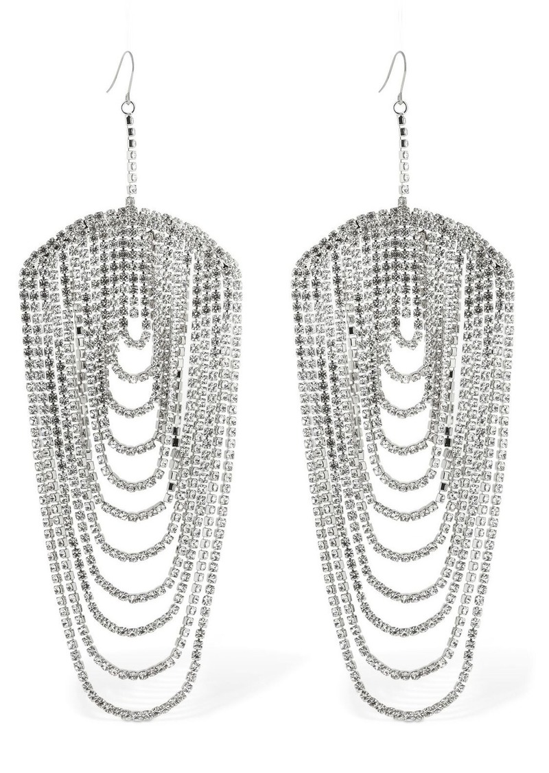 Area Chandelier Crystal Earrings